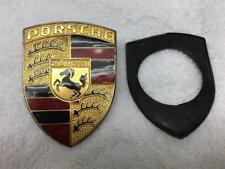 Porsche Bonnet Badge - Porsche Gift - 90155921020 - Porsche Vintage Bonnet Badge