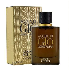Giorgio Armani Acqua di Gio Absolu Instinct 75ml Eau de Parfum Neu &OVP