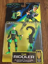 Batman Forever Black Green Suit Riddler with Blasting Question Mark Bazooka 1995