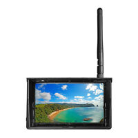 5.8G 48CH 4.3 Inch LCD 480x272 16:9 NTSC/PAL FPV Monitor Auto Search With OSD
