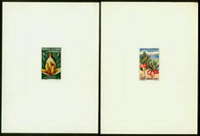New Caledonia 1964 Flowers issues (x6) in deluxe sheets