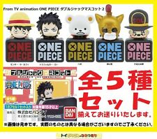 *Official* One Piece Double Jack Mascot 2 Dust Cap Pluggy Figurine (Gashapon)