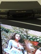 4 Head Hi-Fi Vcr Sv2000 Vintage Tested and working