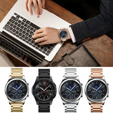 22mm Acero Inoxidable Pulsera de Enlaces Correa Metal Reloj para Samsung Gear S3