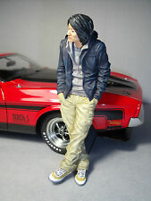 1/18  FIGURE  FAST  AND  FURIOUS  MR  HAN  PAINTED  BY  VROOM  FOR  AUTOART 1/18