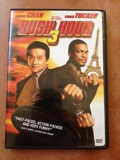 ☀️ Rush Hour 3 -DVD Movie 2007 Jackie Chan Chris Tucker R1 MINT