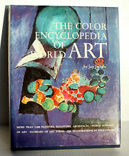 Great Collectable ART book – THE COLOR ENCYCLOPEDIA OF WORLD ART - Excellent