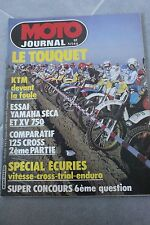 MOTO JOURNAL N°544 YAMAHA XJ 750 SECA XV VIRAGO XT 350 KTM 125 LC SUZUKI RM Z 82