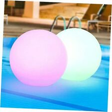 New listing Solar Floating Pool Lights-8-inch Outdoor Waterproof Powered Ball Lights with