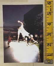 JEFF PHILLIPS SKATEBOARD SALBA PHOTO 80'S SIMS BBC Metro Bowl TX POSTER