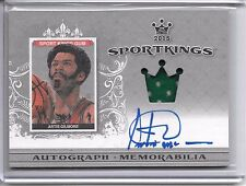 2015 SportKings ARTIS GILMORE ON CARD AUTO JERSEY SP /30 CHICAGO BULLS!!