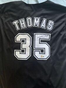 Frank Thomas Signed Jersey (Beckett COA) Chicago White Sox