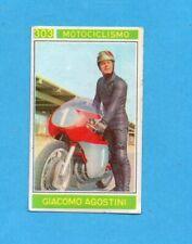 CAMPIONI dello SPORT 1967/68-Figurina n.303- AGOSTINI -MOTOCICLISMO-Recuperata