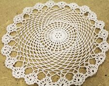 New! Irish 12 Inch 12 PACK Cotton Traditional Linen Lace Doilies Handmade Place