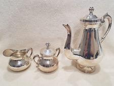 service à thé ou café en argent massif sterling