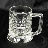 "Vintage Fostoria American Mug Beer Stein 4-1/2"" 10 oz"