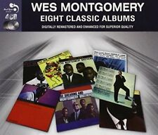 Montgomery, Wes - Fingerpickin' / Trio / Movi... 4CD NEU OVP