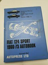 Fiat 124 Sport 66-73 Autobook