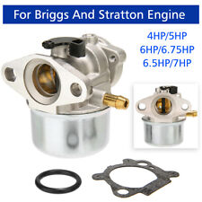 1Set Carburateur pour Briggs et Stratton Moteur 4hp 5hp 6hp 6.75hp 6.5hp 7hp