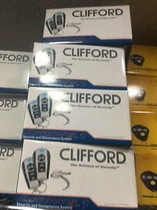 NEW GENUINE  CLIFFORD G5 ARROW 5.1 CAR ALARM  SECURITY SYSTEM