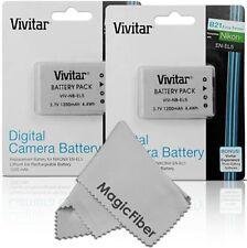 2X EN-EL5 Li-ion Battery for Nikon Coolpix P80 P90 P100 P500 P510 P520 FAST SHIP