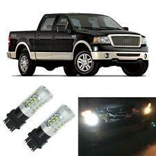 2X White LED 3156 3157 Backup Reverse Light Bulbs For 1997-2008 Ford F-150 F150
