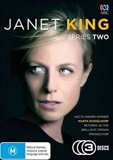 Janet King : Season 2 (DVD, 2016, 3-Disc Set)