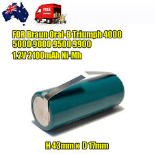 Battery for Braun ORAL-B Triumph Smart Toothbrush 4000 5000 9000 9500 1.2V
