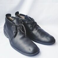 Timberland Earthkeepers 5922R Men Black Leather Chukka Lace Up Ankle Boots 10US