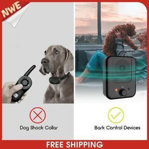 Ultrasonic Dog Repeller Trumpet Outdoor Pet Anti Noise Bark Stopper Device
