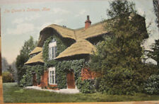England Postcard QUEEN'S COTTAGE Kew Gardens Thatched Greater London Surrey UK