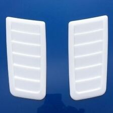 Focus RS ST Style Decorative Bonnet vent *No Cutting Required* Universal White