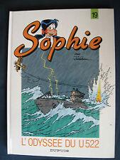 Sophie 19 EO L'Odyssée du U522 Jidéhem Dupuis Sous-marin U-Boot