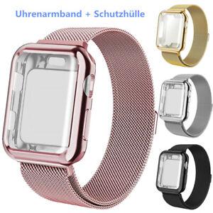 Edelstahl Magnet Uhrenarmband Für Apple Watch Series 6/5/4/3/SE 44/42/40/38 mm