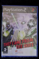 PS2 : THEY COME FROM THE SKIES - Nuovo, risigillato ! Salva il pianeta Terra !