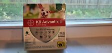 K9 Advantix Ii Flea Medicine Small Dog 4 Month Supply Pack K-9 4-10 lbs SmallDog