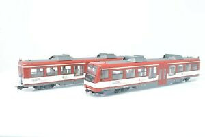 Liliput 009 Gauge - L340502 2 Car Shuttle Coaches - Pinzgauer Local Train