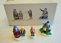 Dept. 56 Heritage Village Collection The Old Man And The Sea Set Of 3 w/Box