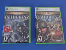 Call of Duty 2 GOTY/Call of Duty 3 Gold Edition Xbox 360