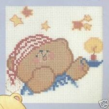 """Time For Bed - Forever Friends Cross Stitch Kit - 3.25"""" x 3.25"""" - Anchor"""