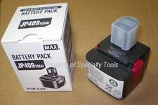 MAX USA JP409 9.6V OEM battery for RB395 RB392 RB515 Rebar tier tying tool NEW