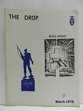 GREEN BERET, THE DROP MAGAZINE, MARCH 1978 ORIGINAL ISSUE, SPECIAL FORCES ASSOC.