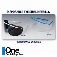 Dental Disposable Eye Shield Clear Refills 250 pcs