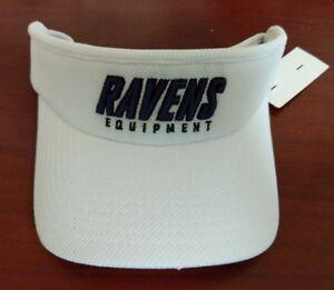 New Reebok On Field Team Issued BALTIMORE RAVENS  Visor Cap One Size