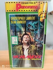 VHS=  Highlander l'ultimo immortale (1986) vhs =I grandi film di Panorama