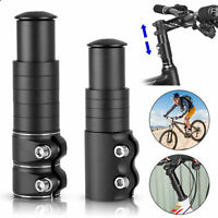 Mountain Bike Handlebar Front Fork Stem Riser Extender Extension Head Up Adaptor