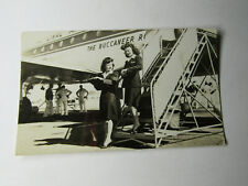 RPPC NATIONAL AIRLINES THE BUCCANEER STEWARDESSES DEPLANING p38