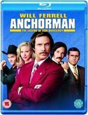 Anchorman The Legend of Ron Burgundy 5051368246536 Blu Ray Region B