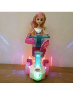 NEW SEGWAY HOVERBOARD SCOOTER DOLL LED LIGHTS MUSIC BALANCE CAR  GIRLS PINK TOYS