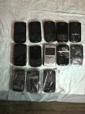 Lot of Verizon BlackBerry phones for parts (3)8630, 9630, 8310, 9530, 9700, 8830